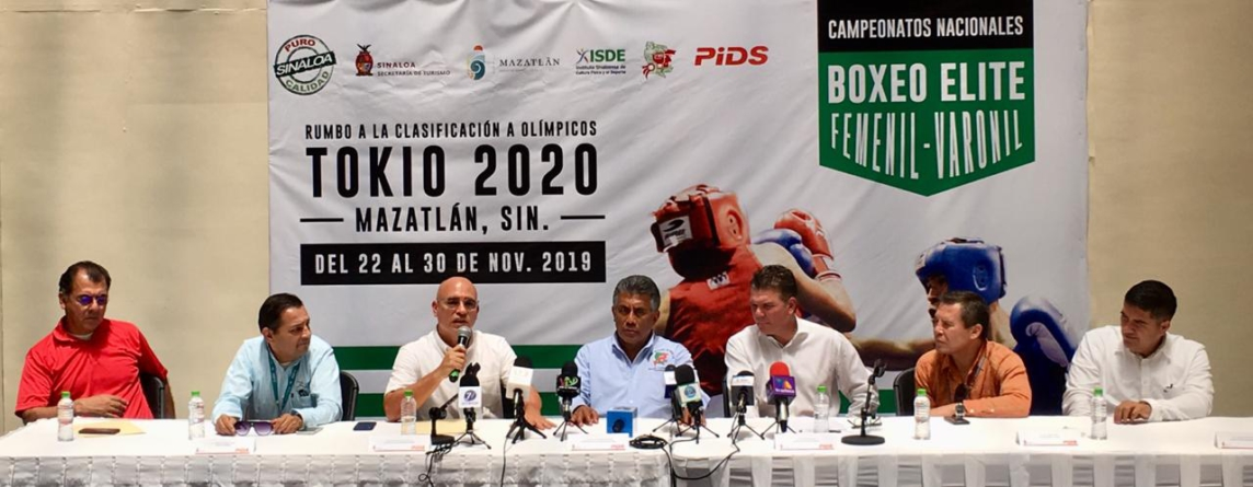 Por primera vez Sinaloa será sede del Nacional Elite de Box