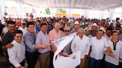 Inicia gobernador trabajos para la laguna de oxidación de Agua Verde