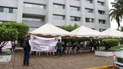 Se suman a manifestación nacional productores y pescadores sinaloenses