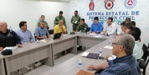Entra en sesión permanente Comité Operativo de Emergencias del Consejo Estatal de Protección Civil