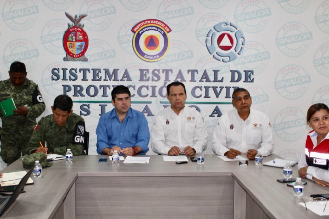 """Efecto ESPEJO   Lluvias de """"Ivo"""" en Sinaloa: todo bajo control"""