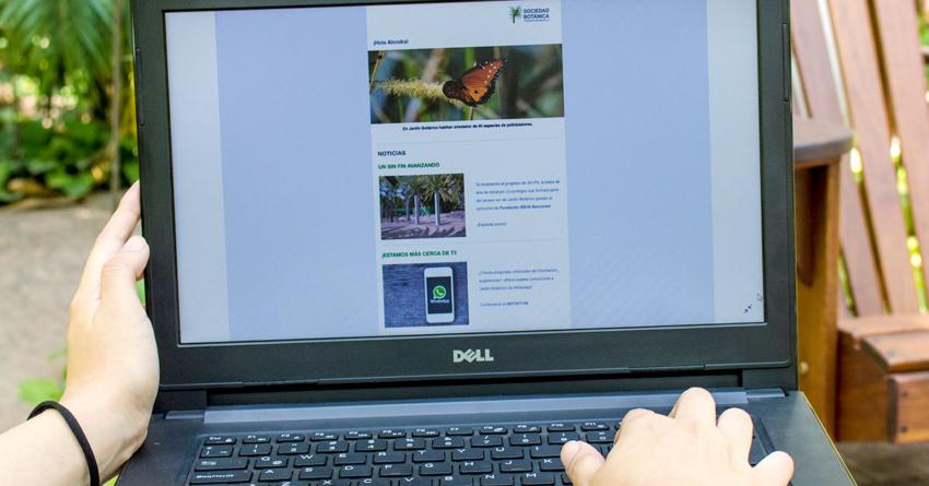 ¡Ya puedes acceder al Internet gratuito del Jardín Botánico!