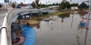 Sin acceso al público | Por inundaciones restringen entrada a Parque Acuático de Culiacán