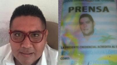 Asesinan a Edgar Alberto Nava, es el segundo periodista muerto esta semana