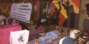Por cuarto día consecutivo, Viudas de Policías Caídos mantienen plantón en Palacio de Gobierno