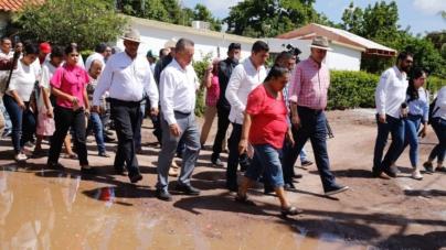 Quirino anuncia inversión de 80 mdp para más obras pluviales en Ahome