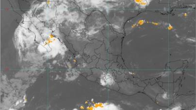 Se pronostican lluvias puntuales fuertes y trombas marinas en costas de Sinaloa