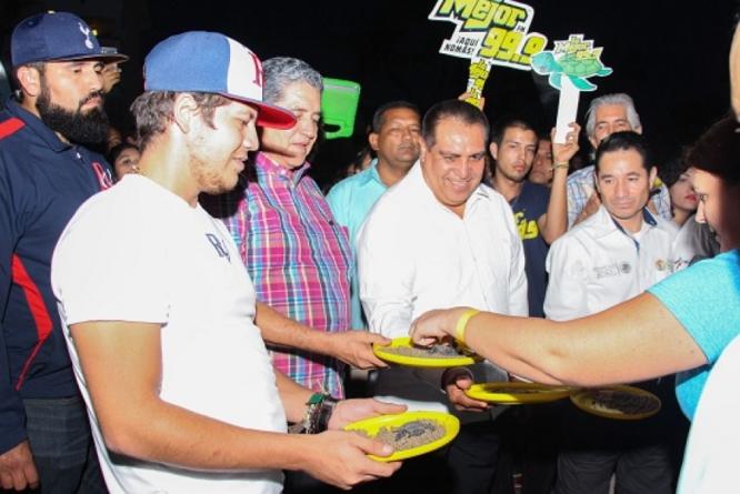 Remmy Valenzuela creará campamento para tortugas marinas en Las Glorias, Guasave