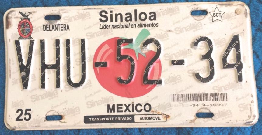 ¿Cómo y porqué ha cambiado el diseño de emplacado en Sinaloa en los últimos años?
