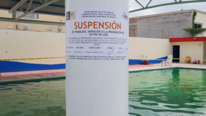 COEPRISS suspende albercas y balnearios que incumplan normas sanitarias