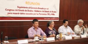 Garantiza Congreso apoyos para afectados por las tormentas 19E y Willa