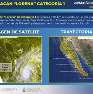 Alerta amarilla por Lorena | Suspenden clases para este sábado en todo Sinaloa