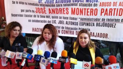 «Todo tipo de atropellos» | Denuncian maestros abuso de autoridad y corrupción en zona escolar 002