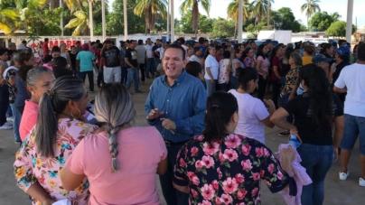Entregan Empleo Temporal Pesquero a 363 familias de Las Arenitas