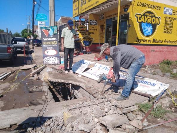 Desde hace un año vecinos solicitaron reparación de alcantarilla en la que cayó Alejandra