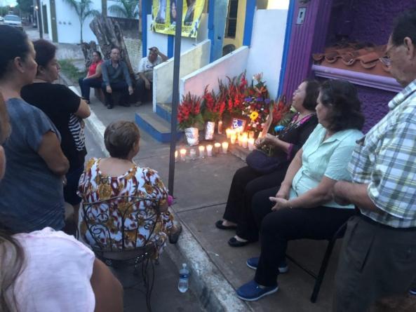 19-E | La tragedia cumple un año: oran por las 3 mujeres del arroyo El Piojo