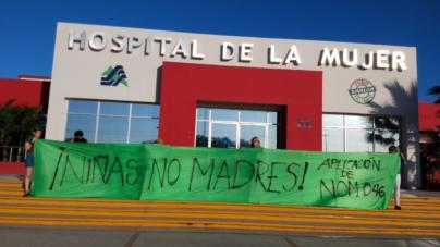 Exigen en Hospital de la Mujer legalizar el aborto en Sinaloa
