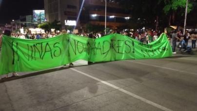 Callejoneada Culichi | Protestas feministas entre la fiesta de la Ciudad