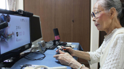 Gamer a los 89 | Hamako Mori demuestra que no hay edad para dejar de jugar