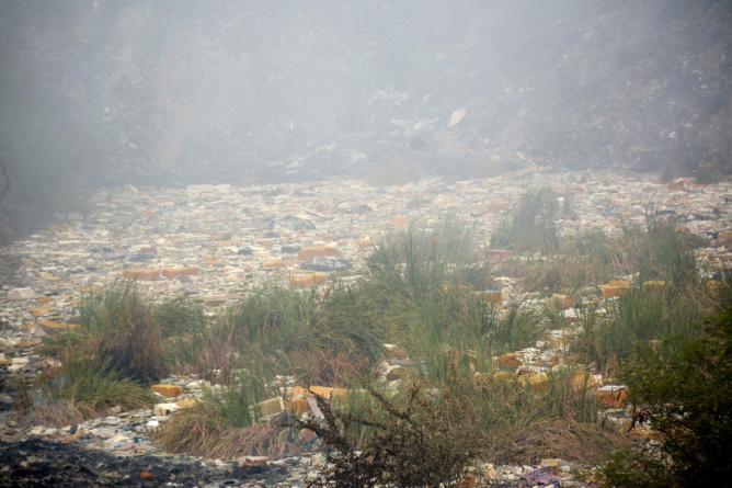 Medio Ambiente | Basurón del Piggy Back sigue contaminando; no ha sido clausurado