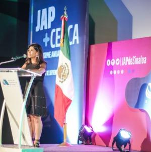 Presenta Adriana Rojo su segundo informe de labores en la JAP Sinaloa