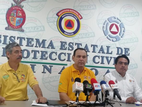 De hasta 200 milímetros serán lluvias en Culiacán; la de este jueves fue de 104 milímetros