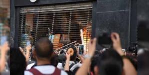 ¡Fueron los conservadores!, acusa AMLO ante vandalismo en Paseo de la Reforma