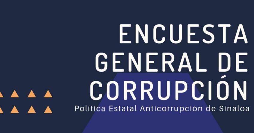 ENCUESTA | ¡Ciudadano! ayuda al CPC a construir la Política Anticorrupción de Sinaloa