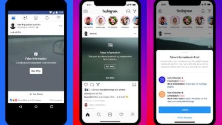Etiqueta de Fake News podría llegar próximamente a Facebook e Instagram