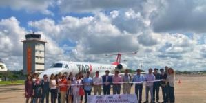 Inauguran vuelo Mazatlán-Querétaro de la aerolínea TAR