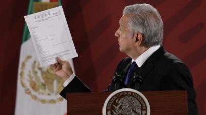 Solicitan al INAIconstancia de salud física y mental de AMLO;«estoy al 100», responde el presidente