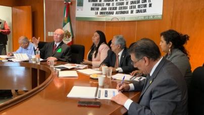 Legisladores federales dan su apoyo a la UAS en la búsqueda de un mayor presupuesto