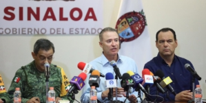 """""""Ante Narda, Sinaloa mostró un buen modelo de prevención"""": Quirino Ordaz"""