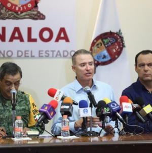 «Ante Narda, Sinaloa mostró un buen modelo de prevención»: Quirino Ordaz