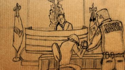«Buenos días, señoría» | Así fue la primera audiencia del presunto feminicida de Diana Giselle