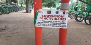No accidentes | Advierte alcalde cancelación de permisos de bicicletas en el Parque Las Riberas