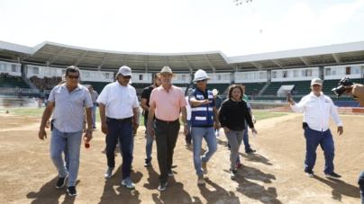 Adelantan inauguración de estadio de béisbol en Guasave por visita de AMLO
