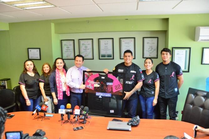Serie Rosa   Buscan SSA y Tomateros de Culiacán crear conciencia sobre el cáncer de mama
