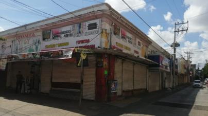 Cortinas abajo | Están cerrados 85% de comercios en Culiacán