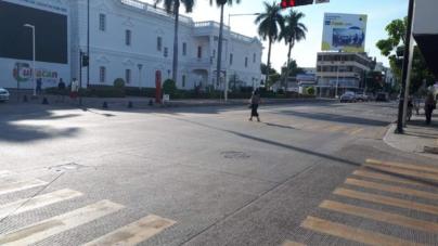 Desolada y sin transporte amaneció este viernes Culiacán