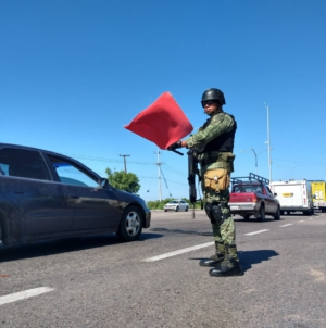 """Elementos del cuerpo de Fusileros Paracaidistas iniciaron acciones dentro del operativo """"Culiacán"""""""