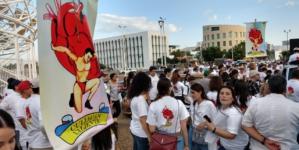 #CuliacánValiente | Culichis marchan para retomar la paz en la ciudad