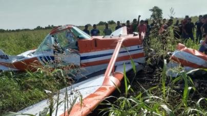 Se desploma avioneta en Escuela de Agricultura de la UAS