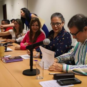 Acuerdan proceso de avalúo de tierras para destrabar construcción de presa Santa María, en el Rosario
