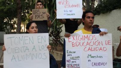 Protestan en la UAS por irregularidades en elecciones de Consejos Técnicos y Universitarios