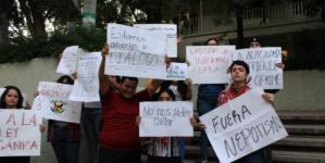 """""""UAS, ni democrática ni autónoma"""", reclaman alumnos de Filosofía y Letras"""