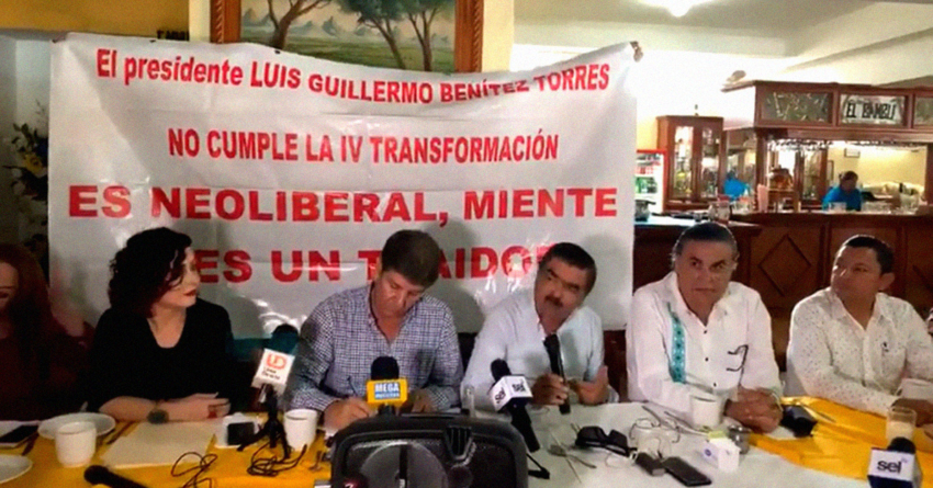 'Truenan' ex funcionarios mazatlecos contra alcalde 'Químico' Benítez