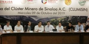 Instalan el Clúster Minero de Sinaloa | La Minería, baluarte fundamental en Sinaloa: Lizárraga Mercado