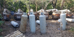 Desmantela Sedena dos narcolaboratorios en poblados de Cosalá