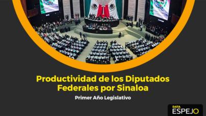 Data Espejo | Evaluando a diputados federales de Sinaloa: faltistas, chambeadores  e improductivos